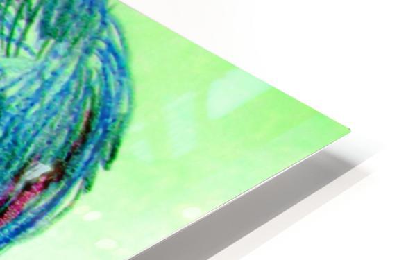 spritecolorsalien7 HD Sublimation Metal print