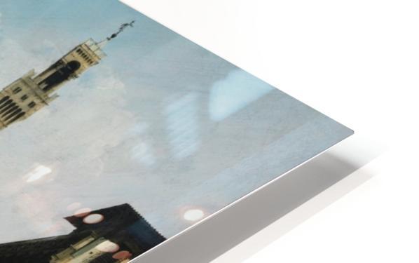 The Piazza della Signoria in Florence HD Sublimation Metal print