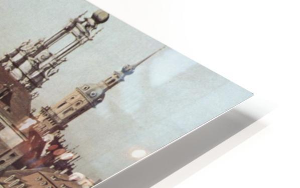 Errichtung der Saulen HD Sublimation Metal print
