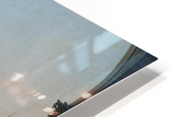Caprice avec des ruines classiques HD Sublimation Metal print