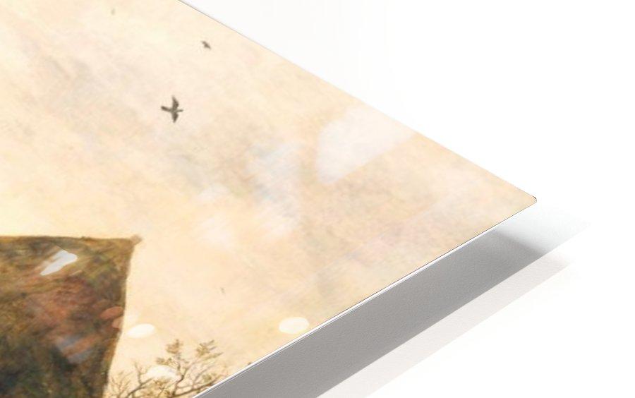 Landscape with Farmhouse HD Sublimation Metal print