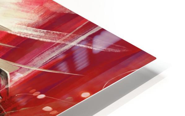 SENTIDOS DE MUJER HD Sublimation Metal print