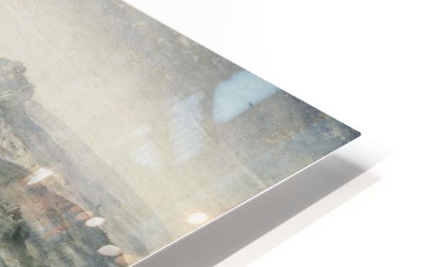 Descanso en la Huida a Egipto HD Sublimation Metal print