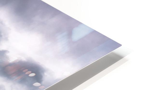 Or et argent HD Sublimation Metal print