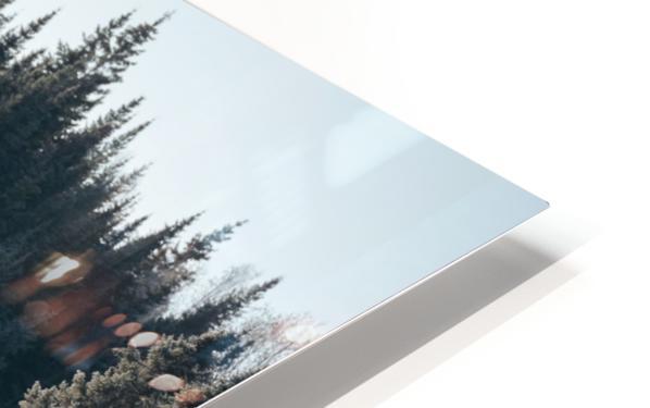 Arbre de dentelle Impression de sublimation métal HD