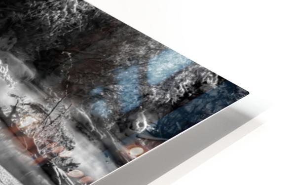 Frosty Creek In Alberta  HD Sublimation Metal print