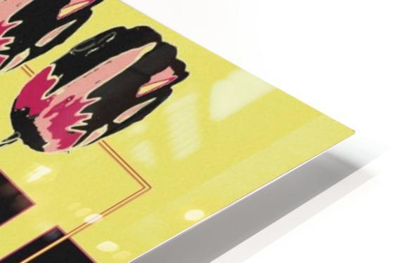 3 Lips HD Sublimation Metal print