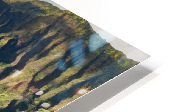 The Cliff Sides of Kauai HD Sublimation Metal print