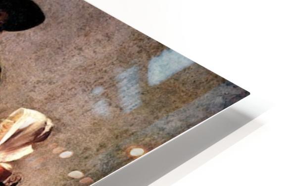 Glass of wine by Vermeer HD Sublimation Metal print