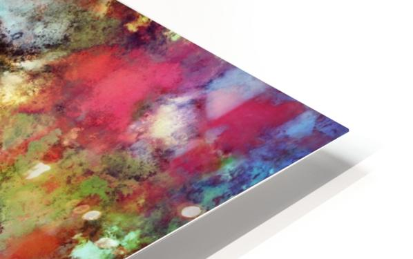 A red road HD Sublimation Metal print