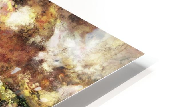 Abraded surface HD Sublimation Metal print
