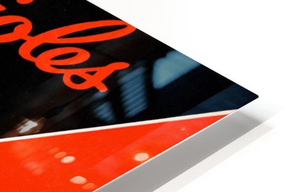 Row One Retro Remix Baltimore Orioles Press Guide Impression de sublimation métal HD