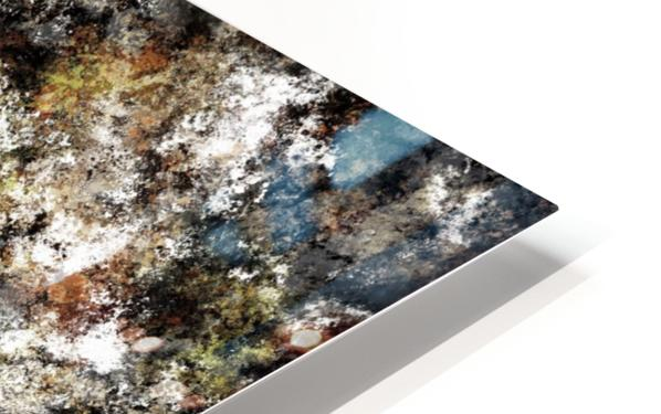 Chipping at the surface HD Sublimation Metal print