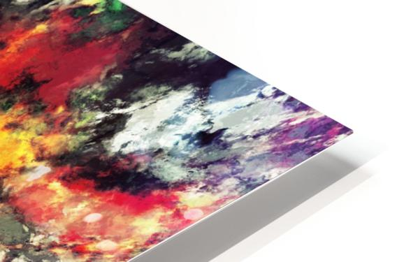 Clattering HD Sublimation Metal print