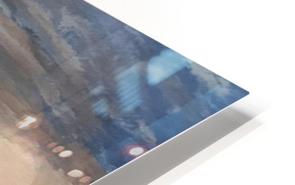 A Greek Island HD Sublimation Metal print