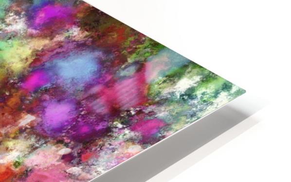 Falling petals HD Sublimation Metal print