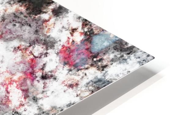 Frosty pink HD Sublimation Metal print