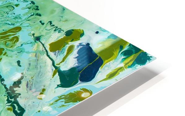 Seaweed Confetti HD Sublimation Metal print
