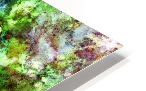 Green scene Impression de sublimation métal HD