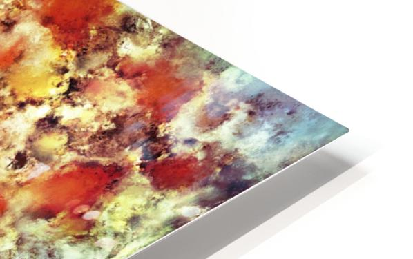 Hot water HD Sublimation Metal print