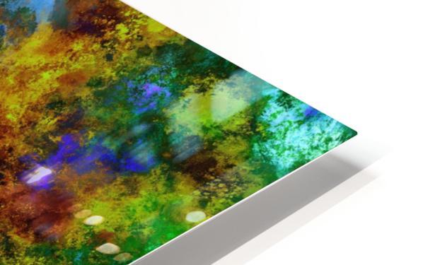 Background noise HD Sublimation Metal print