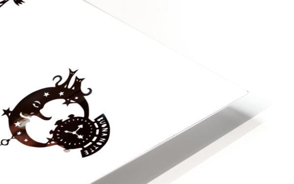 Castellini di Luna HD Sublimation Metal print