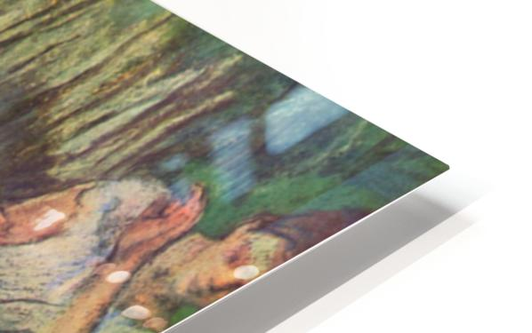 Harlequin and Colombine by Degas HD Sublimation Metal print