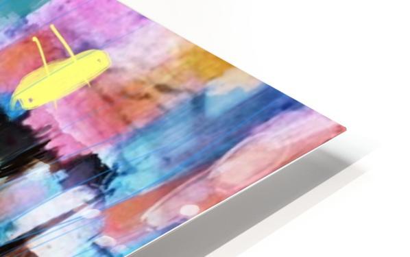 Through the Rain HD Sublimation Metal print