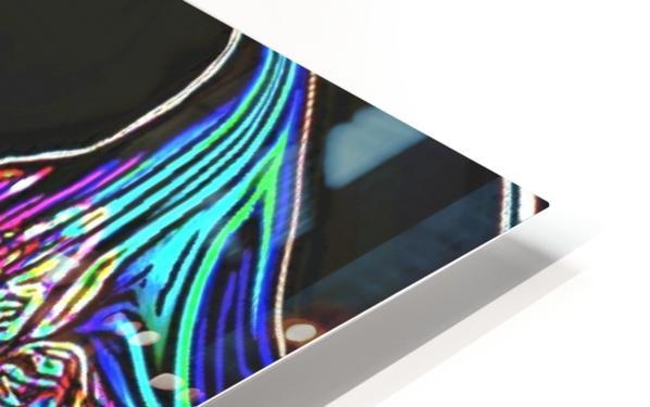 Neon Dreams HD Sublimation Metal print