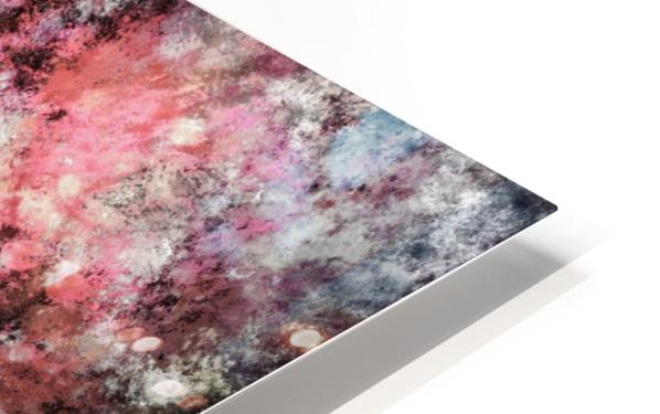 Pink stone HD Sublimation Metal print