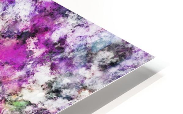 Reflecting the purple water Impression de sublimation métal HD