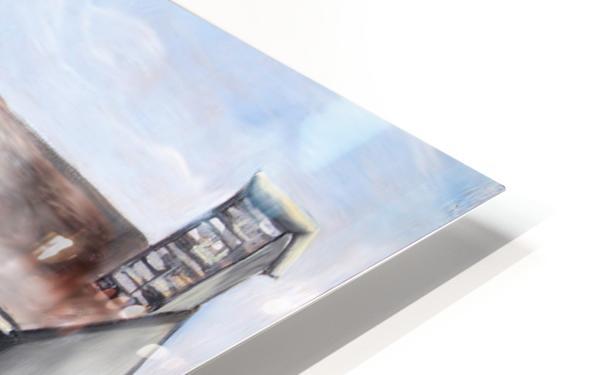 Liege Castle French Provenance  HD Sublimation Metal print