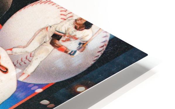 1986 Baltimore Orioles Media Guide Canvas Impression de sublimation métal HD