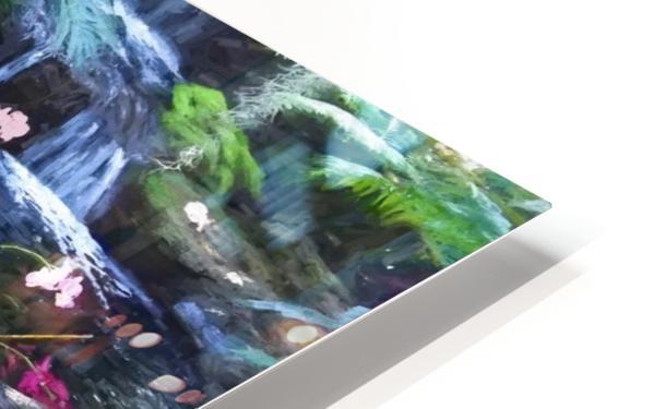 Floating Botanicals HD Sublimation Metal print