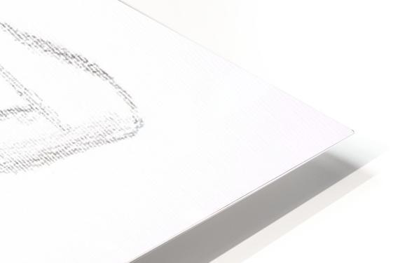 DAPHNE - Carbon HD Sublimation Metal print