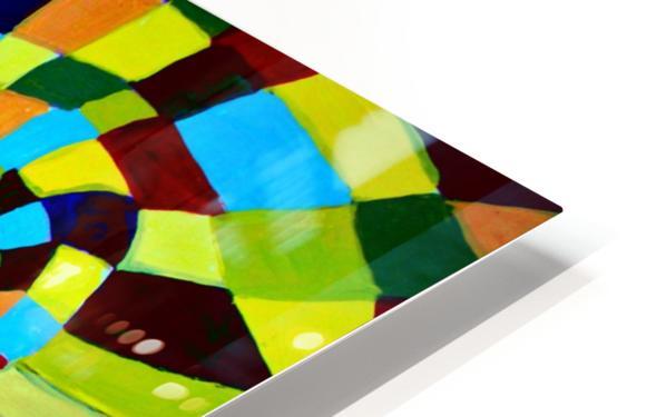 Watecolor Contermporary Pop Surrealism Clown  HD Sublimation Metal print