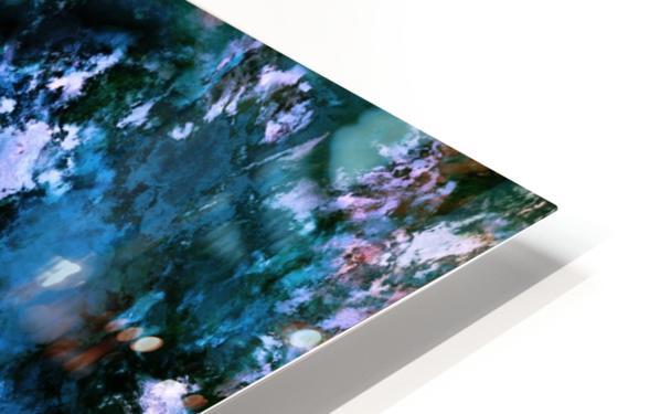 Smouldering blue Impression de sublimation métal HD