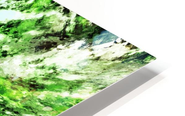 Splash Impression de sublimation métal HD