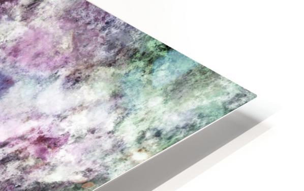 The quiet purple clouds HD Sublimation Metal print