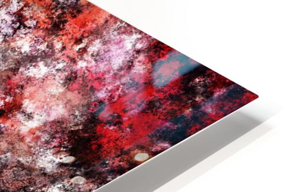 The red sea foam HD Sublimation Metal print