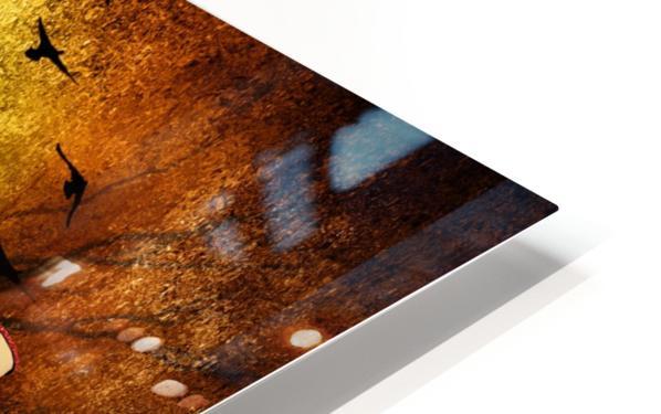 Lamp Man HD Sublimation Metal print