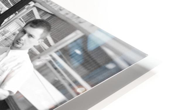 Cafe en face de Drouot HD Sublimation Metal print