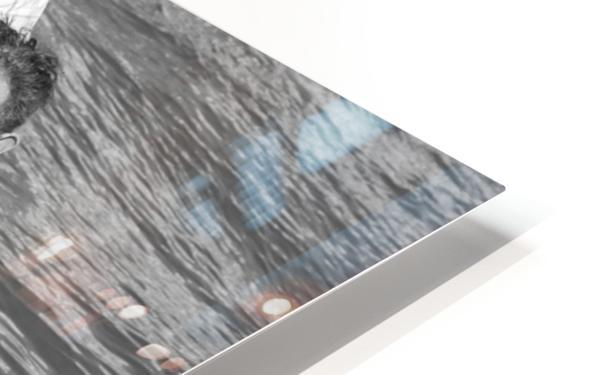 Salsa de la Seine HD Sublimation Metal print