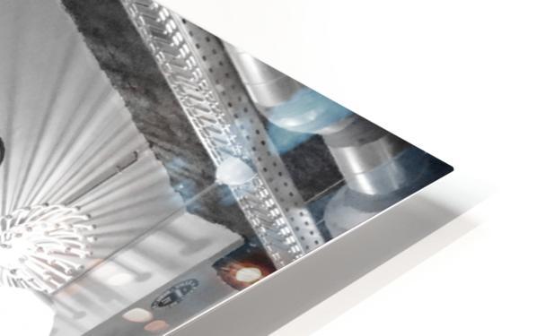 Soiree dans le Griffon HD Sublimation Metal print