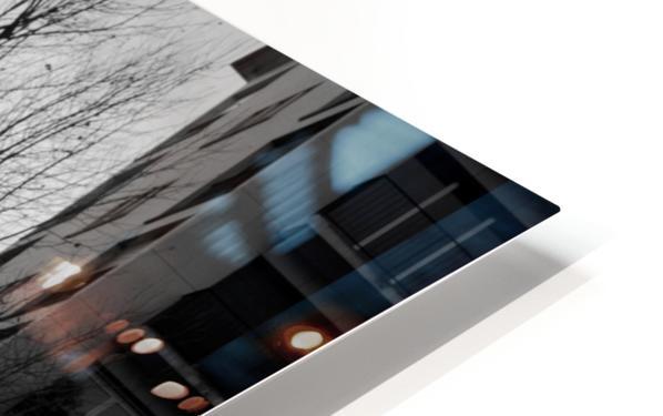 Un Velo dans Belleville HD Sublimation Metal print