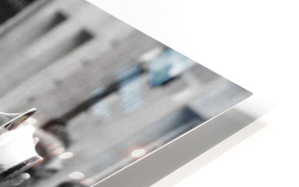 Musique rue des Francs Bourgeois HD Sublimation Metal print