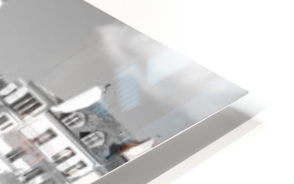 Ile de la Cite HD Sublimation Metal print