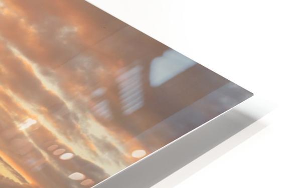 Haystack Rock at Sunset HD Sublimation Metal print