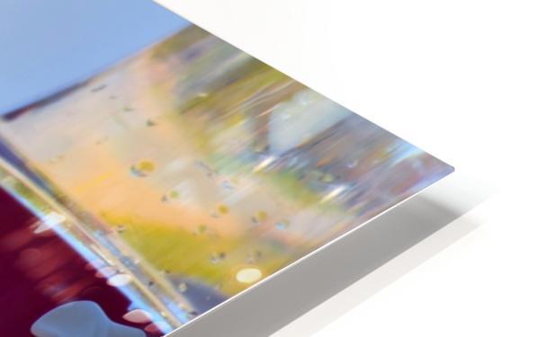 Oiseau-mouche Impression de sublimation métal HD