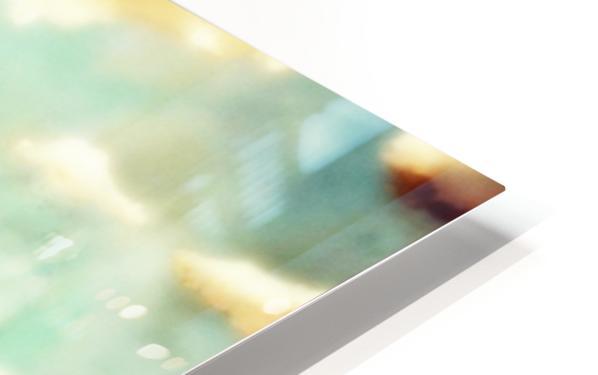 Spacetime Phone Box RLM HD Sublimation Metal print